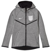 NIKE Grey England Teach Fleece Windrunner Jacket
