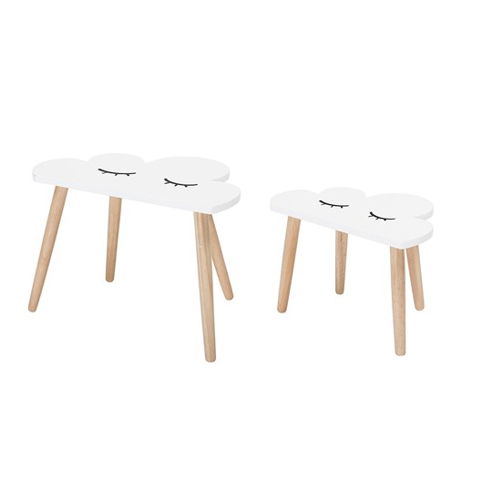 Bloomingville White Cloud Table White