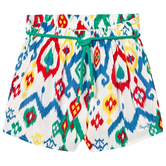 Pepe Jeans Multicolor Printed Shorts 08A