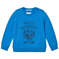 Pepe Jeans Blue World Adventure Sweater 549