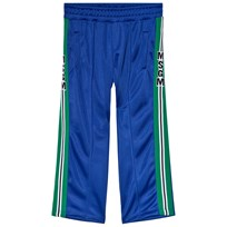 MSGM Blue Technical Logo Track Pants 130