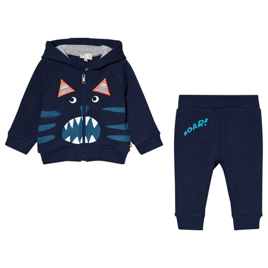 Paul Smith Junior Navy Lion Print Tracksuit 492