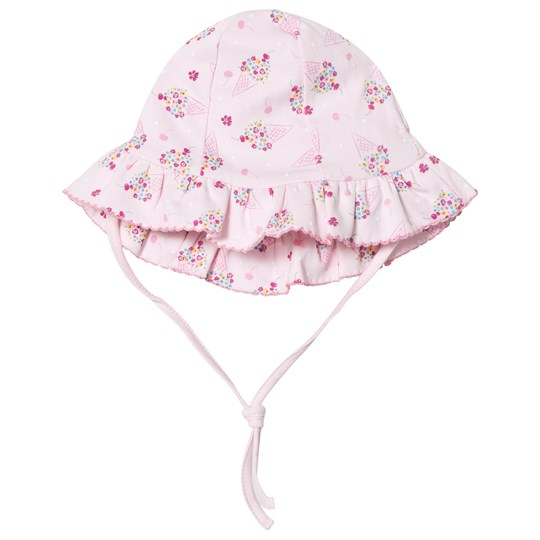 Kissy Kissy Pink Cherry on Top Print Sun Hat PK