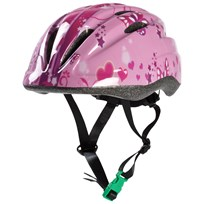 STOY Helmet with green buckle, Pink Pink