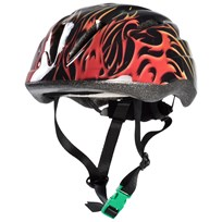 STOY Helmet with green buckle, Black Black