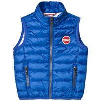 colmar Blue Lightweight Padded Infants Gilet 282 SHAKE / LONDON