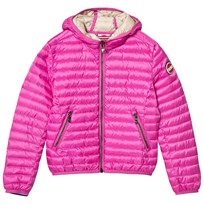 colmar Pink Padded Lightweight Hooded Jacket 287 TULIP / ETNA