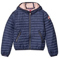 colmar Navy Lightweight Padded Jacket 283 POLICE / VINTAGE ROSE