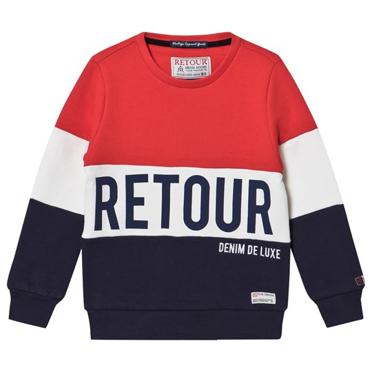 Retour Bruce Sweater Fire Red Fire Red