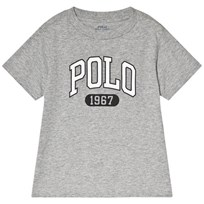 Ralph Lauren Grey Polo Logo Tee 004