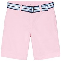Ralph Lauren Chino Shorts with Belt in Pink 005