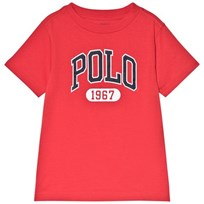 Ralph Lauren Red Polo Logo Tee 003