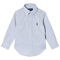 Ralph Lauren Blue Oxford Button Down Shirt 004