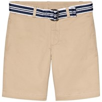 Ralph Lauren Beige Chino Shorts with Belt 003