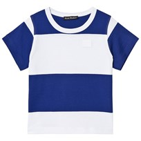 Acne Studios Mini Nedy Tee Ink Blue and White Ink Blue / White