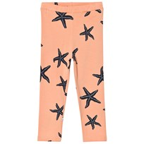 Emma och Malena Starfish Leggings Peach Peach
