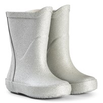 Celavi Silver Glitter Wellies Hopea
