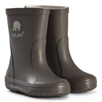 Celavi Basic Wellies Grey Musta