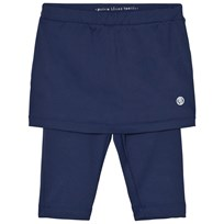 Poivre Blanc Navy Tennis Capris Legging and Skirt 0087