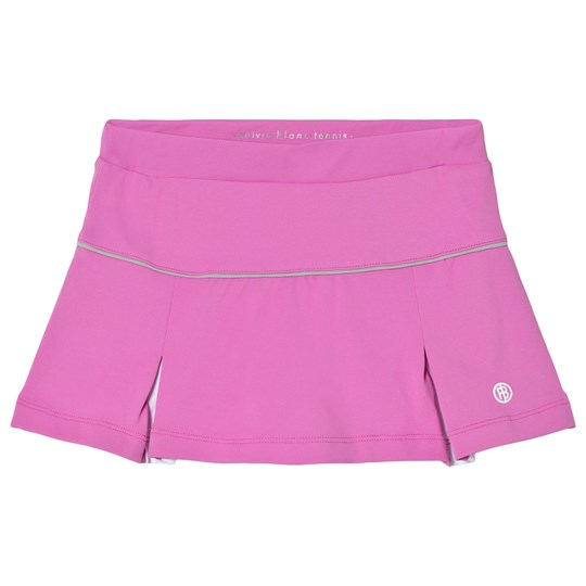 Poivre Blanc Pink with White Inverted Pleat Tennis Skort 0081