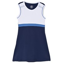 Poivre Blanc Navy and White Tennis Dress 0088