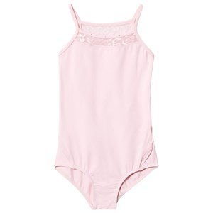 Image of Mirella Mesh Neck Bow Back Leotard Pink 12 years (3009899211)