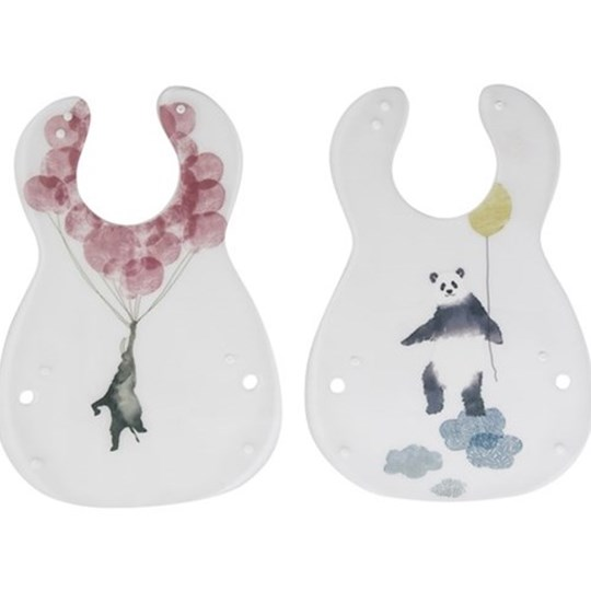 sebra Haklapp, In the Sky, 2-pack, Panda Multi