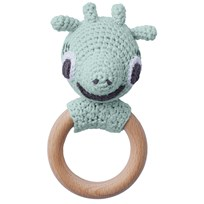 Littlephant Giraffe Rattle Aqua Aqua