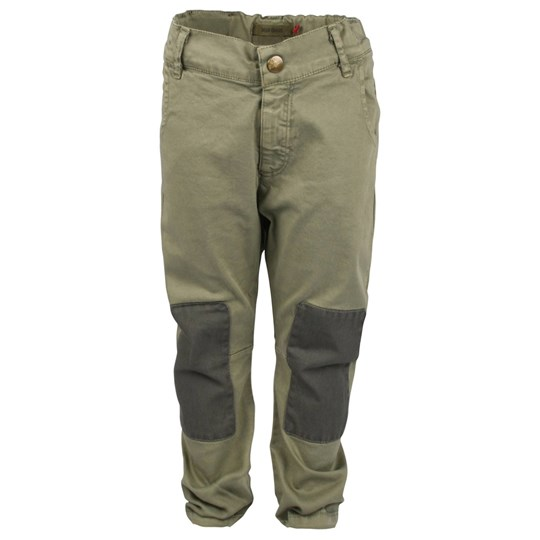 Bobo Choses Trousers Twill Twist Green Green