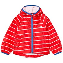 Muddy Puddles Puddlepac Jacket Paintbrush Breton Red Red Stripe