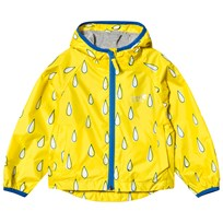Muddy Puddles Puddlepac Lined Jacket Yellow Raindrop Blake Raindrop