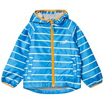 Muddy Puddles Puddlepac Lined Jacket Paintbrush Breton Blue Paintbrush Breton Stripe