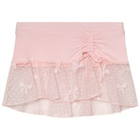 Bloch Pink Eveline Bow Mesh Skirt Pink