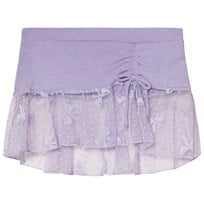 Bloch Lilac Eveline Bow Mesh Skirt with Tie Lilac