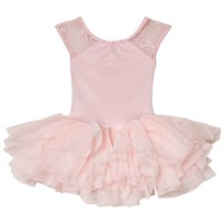 Bloch Pink Eleonore Back Bow Tutu Leotard Pink