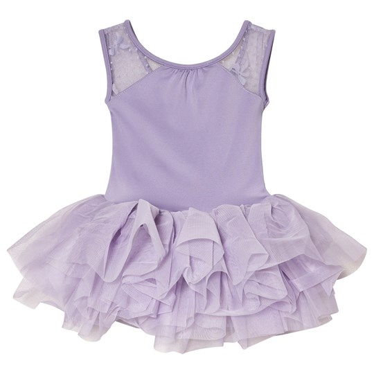 Bloch Lilac Eleonore Back Bow Tutu Leotard Lilac