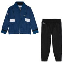 Lacoste Navy and Blue Tennis Tracksuit Marino/Black-White