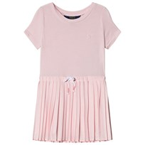 Ralph Lauren Pink Jersey Pleated Dress 002