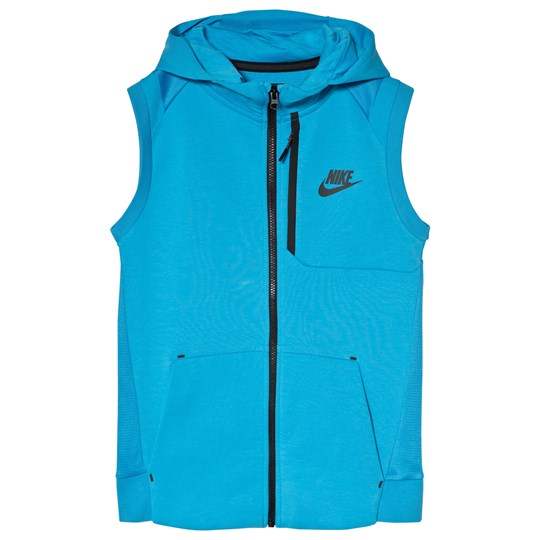 NIKE Blue Sportswear Tech Fleece Vest 482