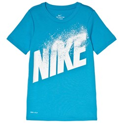 NIKE Blue Dry-FIT Training Tee