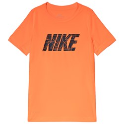 NIKE Orange GFX Dry Legacy Top