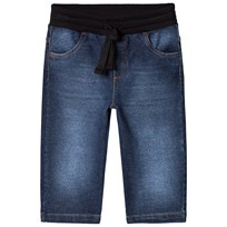 Dolce & Gabbana Blue Mid Wash Drawstring Jeans S9050