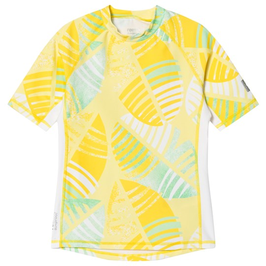 Reima Fiji Short Sleeve UV Top Yellow Yellow