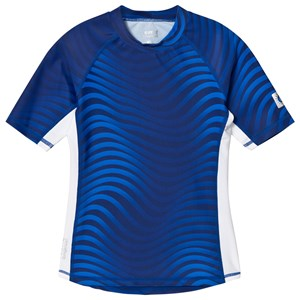 Image of Reima Fiji Short Sleeve UV Top Blue 110 cm (3011421185)