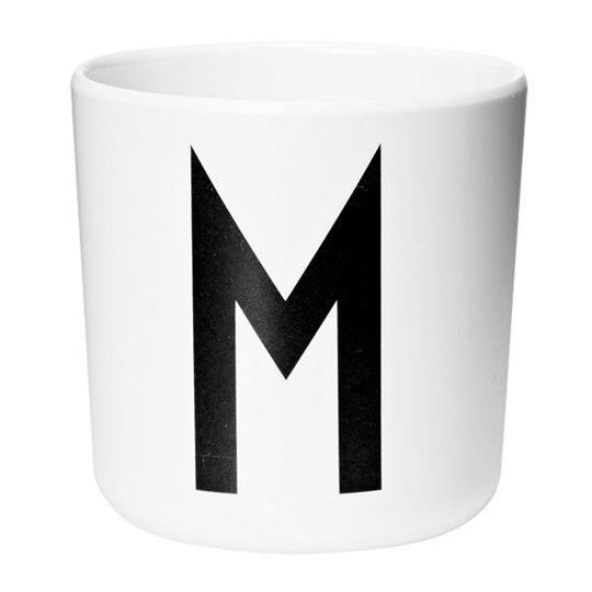 Design Letters Melamine Cup M White