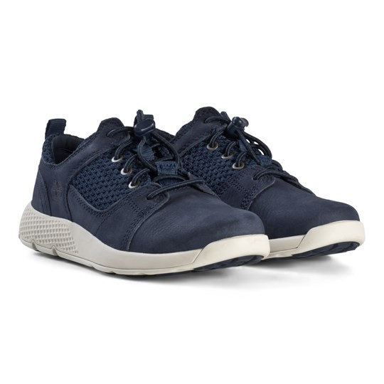 navy blue timberlands youth