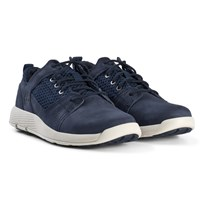 Timberland Junior Flyroam Oxford Shoes Navy Black Iris