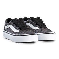 Vans Old Skool Glitter Shoes Rainbow Black (Glitter) rainbow black