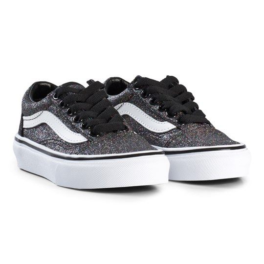 e93e9f8ad2e8b3 Vans - Old Skool Glitter Shoes Rainbow Black - Babyshop.com