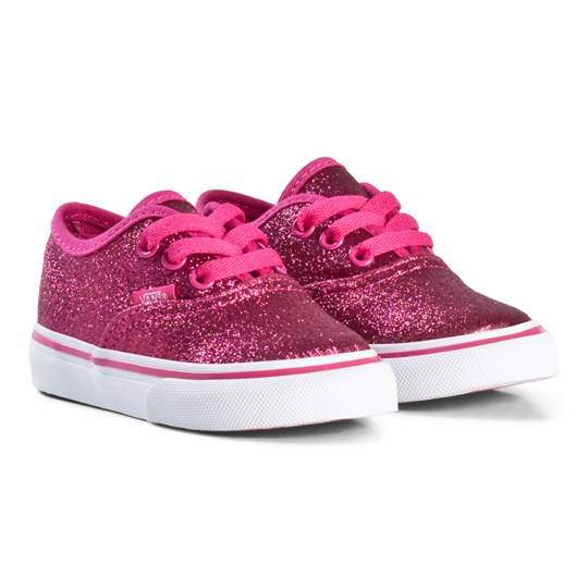 Vans Authentic Glitter Shoes Rosy White (Glitter) rosy
